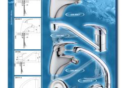 Listový katalóg produktov SANITECH 2009: Séria FATRA MIX, rozmer strany A4