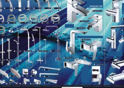 Reklamný leták SANITECH 2011: Reklamný leták predajnej akcie, rozmer strany A3 (obojstranne)