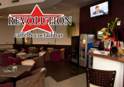 Caffé & Coctail bar REVOLUTION: interiér