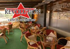 Caffé & Coctail bar REVOLUTION: exteriér (terasa)