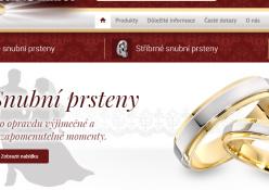www.farbilia.cz: Tradičný český výrobca snubných prsteňov.