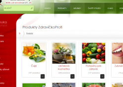 www.zdravickoprofi.sk: Predaj širokého sortimentu doplnkov výživy pre športovcov