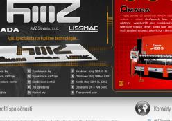 www.amz.sk: Webvizitka - rozcestník spoločnosti AMZ Slovakia, s.r.o.