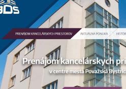 www.bdsrent.sk: Prenájom kancelárskych priestorov v centre Považskej Bystrice.