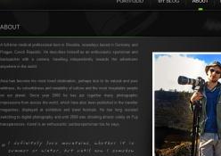 www.kamilfogel.com: Prezentácia osobnej tvorby fotografa