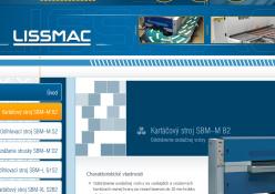 www.lissmac.amz.sk: Kartáčové, brúsne a odihlovacie stroje, odsávanie a prepravné pásy