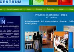 www.akobytzdravy.sk: Stránky privátneho zdravotníckeho zariadenia