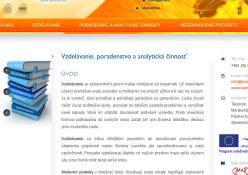 www.tauricon.eu: Spoločnosť zaoberajúca sa vzdelávacou činnosťou a poradenstvom