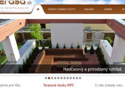 www.vasaterasa.sk: Terasy, fasády, oplotenie z drevoplastových dosiek na mieru