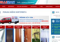 www.williman.sk: Predaj a montáž okien a dverí, murárske práce
